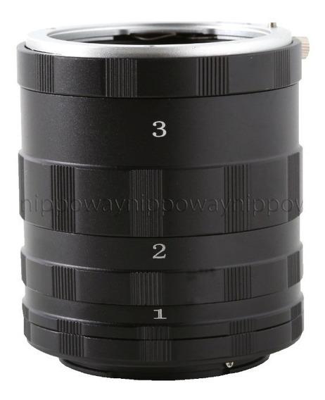 Tubo Extensor Macro Fotografia Camera Lente Nikon Sem Af