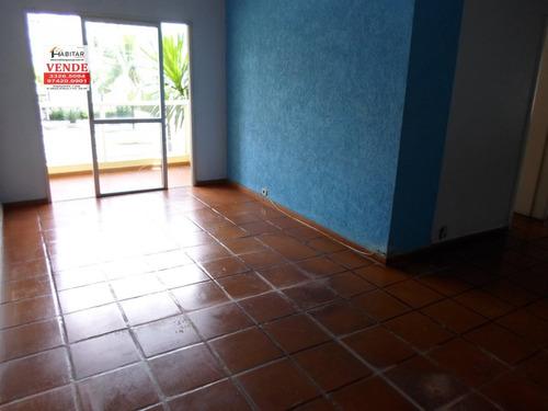 Apartamento A Venda No Bairro Enseada Em Guarujá - Sp.  - 1695-1