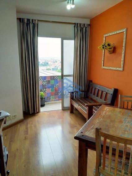 Condomínio Evidence Apartamento À Venda, 52 M² Por R$ 255.000 - Centro - Jandira/sp - Ap2774
