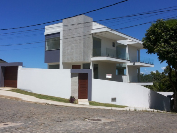 Belíssima Casa De Alto Padrão A Venda No Bairro Colinas - 749 - 68308309