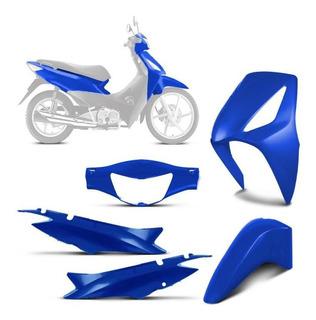 Kit Plástico Carenagem Moto Honda Biz 125 2006/2010