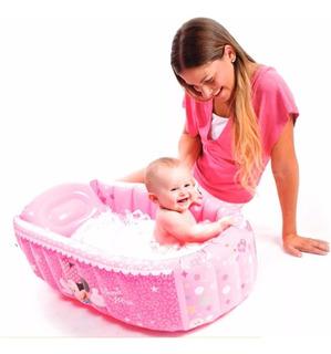 Bañera Inflable Bebe Disney C/ Desague Apto Recien Nacido