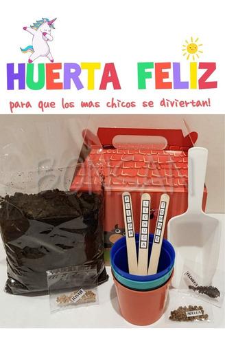 Imagen 1 de 5 de Juego Didactico Huerta Infantil Niños Semillas Germinación