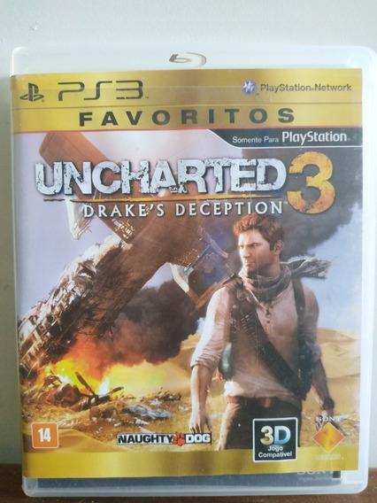 Jogo Ps3 Uncharted 3 Drake