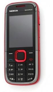 Nokia 5130 Xpressmusic Novo 2g Red Orig & Desb Frete Gratis