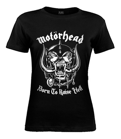 Remera De Mujer Motorhead - Classic