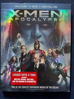 X-men: Apocalypse (blu-ray + Dvd + Ultraviolet)