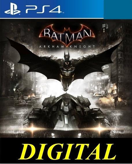 Batman Arkham Knight Ps4 Psn - Midia Digital 1°
