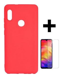 Capinha De Silicone Xiaomi + Pelicula De Vidro -envio Rápido