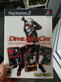 Ps2 - Box Devil May Cry 5th Anniversary Collection Lacrado