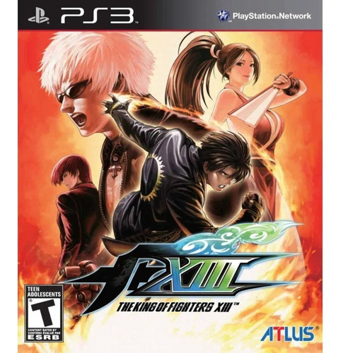 The King Of Fighters Xiii 13 Ps3 Digital