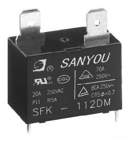 Rele Sanyou Sfk 112dm 12vcc 20a P/ Ar Cond. (produto Novo ,)