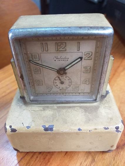 Relógio Despertador Com Caixa De Música Promoção R$150,00!!!