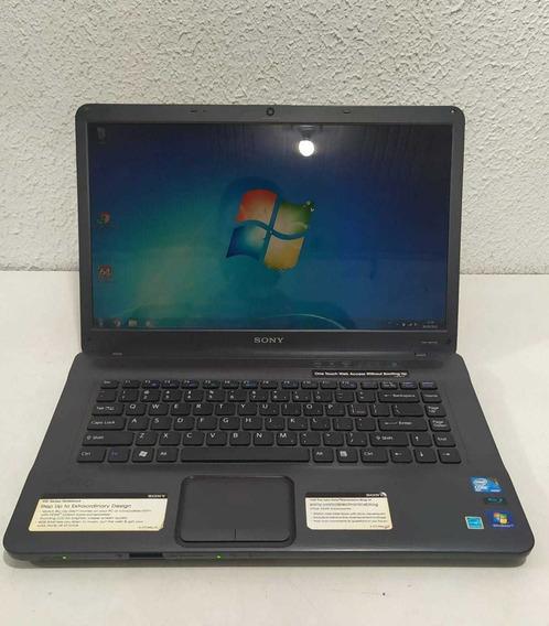 Notebook Sony Vaio Core2duo 4gb Ram Hd 500gb Hdmi Ler Descr