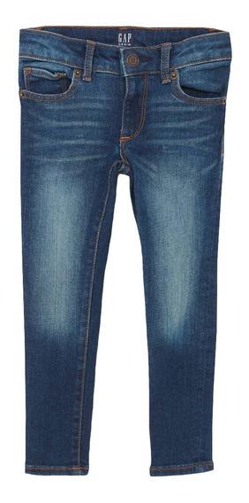 Jeans Niña Pantalón Mezclilla Super Skinny Fantastiflex Gap