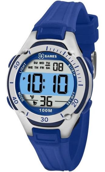 Relógio X-games Infantil Xkppd015 Bxdx C/ Garantia E Nf