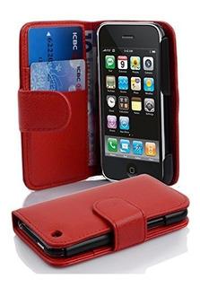 Cadorabo Book Style Wallet Design Para Apple iPhone 3 3g 3gs