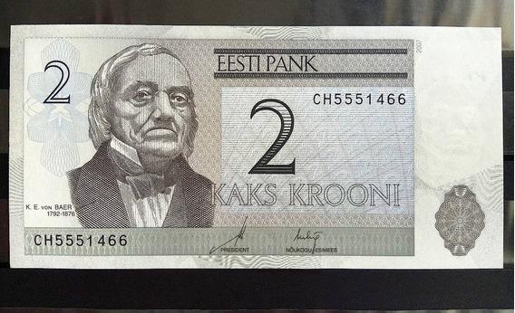 Cedula Estonia 2 Krooni