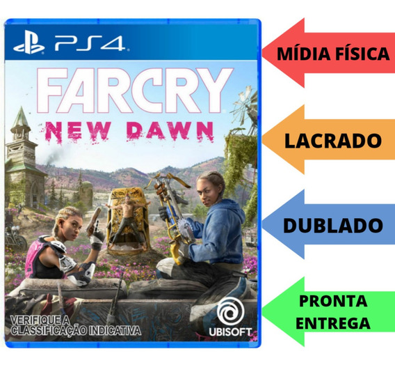 Far Cry New Dawn Mídia Física Lacrado Ps4