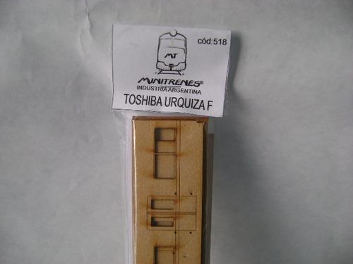 Imagen 1 de 6 de Nico Coche Toshiba C/furgon Fcgu Kit Fibrofacil H0 (mnt  90)