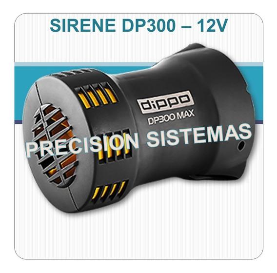 Sirene Rotativa Para Aplicação Diversa - 12vcc - Até 300mts