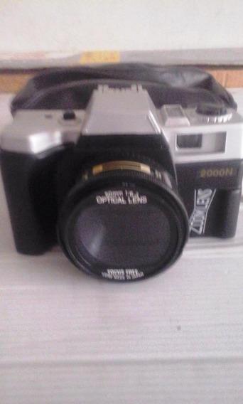 Câmera Fotográfica Analógica Yashica Zoom Lens 2000 N