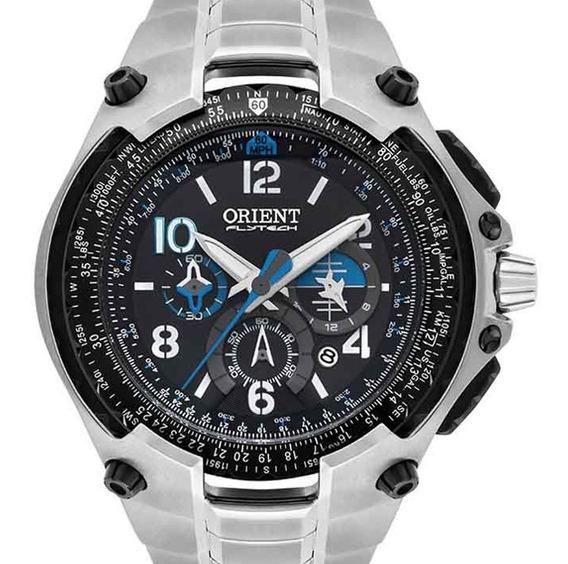 Relógio Orient Masculino Flytech Mbttc016 P2sx Garantia E Nf