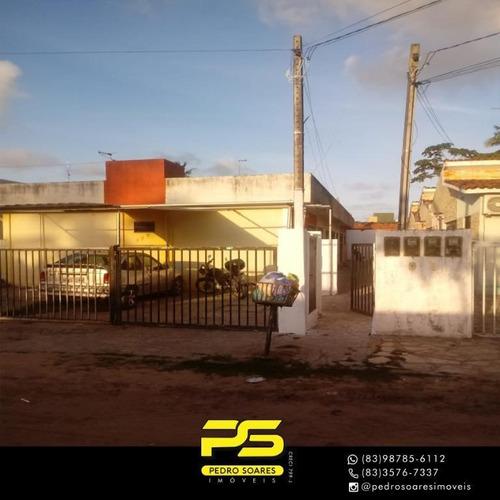 Casa Com 2 Dormitórios À Venda, 48 M² Por R$ 68.000,00 - Muçumagro - João Pessoa/pb - Ca0795