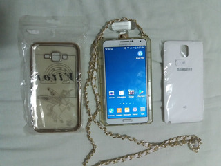 Smartphone Sansung Note 3 Branco, 3gb Ram, 32gb Tela 5.7p