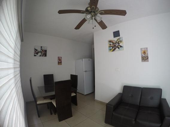 Departamento Amueblado En Renta En Av. Camaron, Ciudad Del C