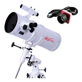 Telescópio 150mm Astronômico Skylife Polar 6 + Câmera Lunar