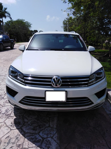Volkswagen Touareg Tdi Blindaje Iv Plus 2015 Blanca