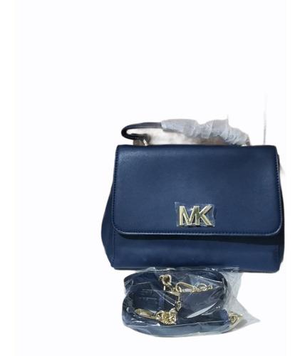Imagen 1 de 4 de Bolso De Dama Mk Azul G5