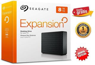 Disco Duro Externo 8 Teras Seagate Expansion Usb 3.0 Oferta