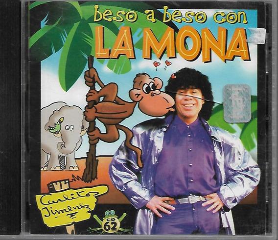 Carlos La Mona Jimenez Album 62 Beso A Beso Cd Nuevo 1998