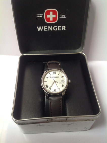 Hermoso Reloj Para Dama Wenger Cuarzo. Original. Semi Nuevo