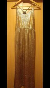 Vestido De Fiesta Color Rose Gold Marca Forever21