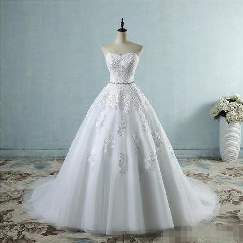 Vestido Noiva Tomara Que Caia Princesa Luxo 32 Ao 62 11776