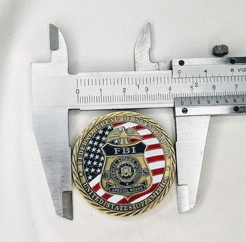 Moneda Policial, Special Agent F B I