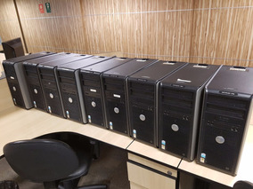Lote 7 Unid. Dell Optiplex 745 Pentium D/ 2gb Ram / Hd 70gb