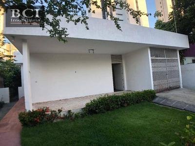 Casa Residencial Para Locação, Casa Forte, Recife. - Ca0060