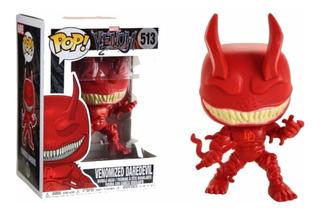 Daredevil Venomized Venom Marvel Funko Pop