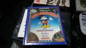 Livro Art Of Animation Disneys 1991