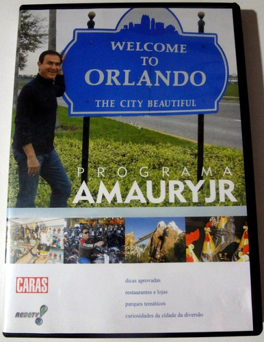 Dvd  Amaury Jr. Welcome To Orlando -  Lacrado