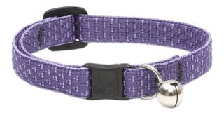 Collar Gato Y Perro Cascabel 1/2 Eco,perros Raza Ch - Lila