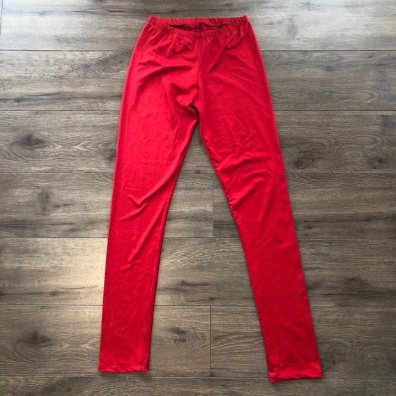 Calza Larga Color Rojo - Talle 38- Mujer