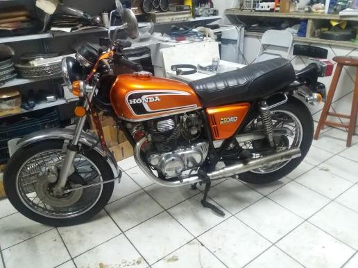 Honda Cb 360 1974 Revisada