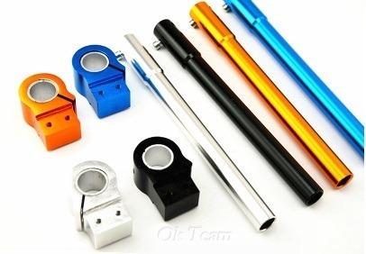 Manijera Tuning Azul Set Diametro 31mm