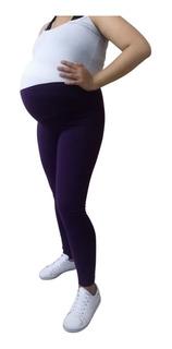 Pantalón Materno, Tipo Leggins Para Embarazo. Maternidad.