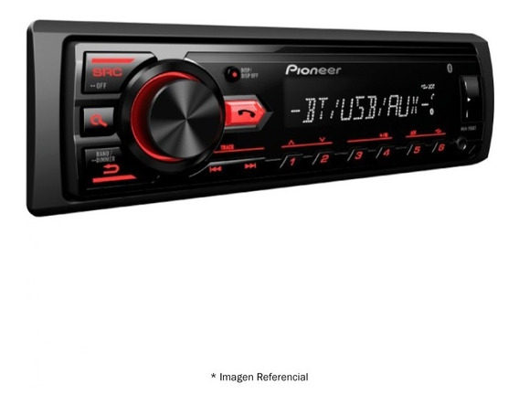 Radio De Auto Pioneer Mvh-295bt Usb, Bluetooth, No Cd, Mp3